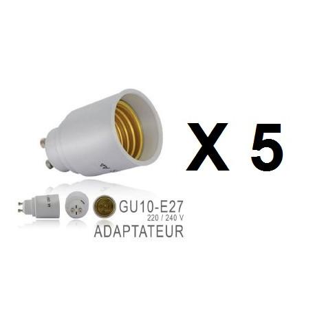 48v Antivols Led 5 A Douille Lampe E27 24v Adaptateurs Convertisseur Culot Gu10 Eclats Ampoule 12v 220v 4R35AqjL