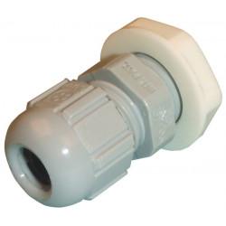 Wasserdichte kabeldurchfuhrung mit schraube diam 12.5mm grau fur wasserdichten verbindungsstuck ø 12.5mm