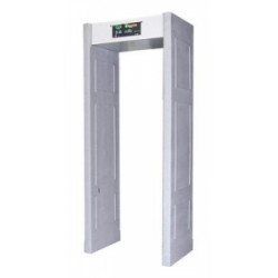 Vermietung von Metalldetektor-Portal 7 Tage elektronische Sicherheitserkennung von Metalldurchgangsalarm