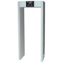 Walk through scanner 220vac frame metal detector security metal detector porch agaings weapon archway walk thru detectors portab