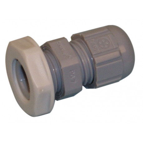 Pvc cable gland gray passage and protection cable wire 2.5 to 6.5 mm waterproof grommet
