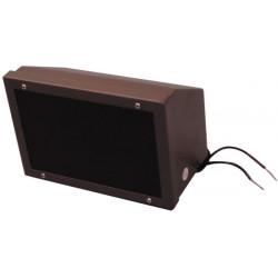 Projecteur led infrarouge etanche 10/20m 16v 24v 24vcc 23w pour camera surveillance video eclairage