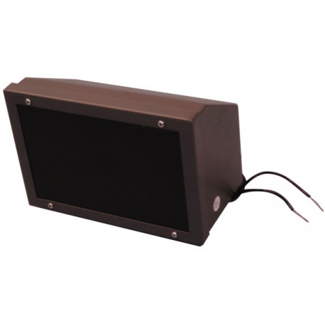 Waterproof led infrared projector 10/20m 16 24vdc 23w for video surveillance camera ccd lighting