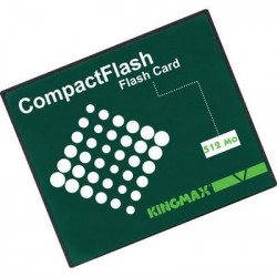 Scheda compact flash 512mo compact cards flash informatica memoria