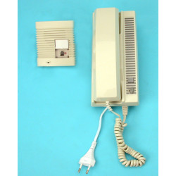 Interphone villa 2 fils saillie portier phonique interphones maison portiers phoniques dph