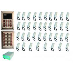 Doorphone pack collective doorphone pack for 38 apartments apartment doorphone system doorphone entry systems doorphone system s