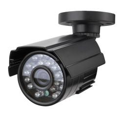 Cámara de seguridad CCTV 1/3 '' de la cámara Canon CMOS 1200TVL metal IP66 24 LED de color Noche