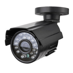 CCTV Security Camera 1/3'' SONY CMOS 1200TVL Metal IP66 24 LED Color IR Night Vision Surveillance Home Outdoor Video Camera