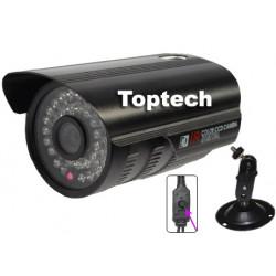 Camera couleur 12v 900 tvl 1/3b Sony Effio A 48 led ir 35m osd surveillance video