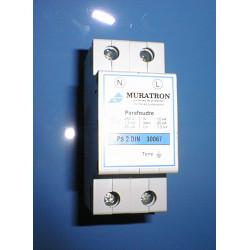 Einphasig blitzschutz 220vac installation auf schiene din sicherheit gerateschutz schutz der gerate gegen gewitter
