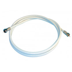 Cable for satellite pointer, f plug to f plug, 1m cable wires cable wire cables cable for satellite pointer, f plug to f plug, 1