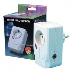 Lightning arrester 220vac plug in surge protector with filter + tv protection coaxial surge