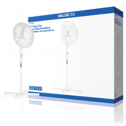 Stand Fan 40cm 3 lv sfn16-speed oscillating or stationary air freshener