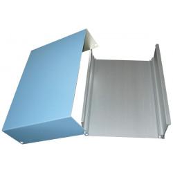 Box case aluminium box for bgan anti tamper case for gas cartridge , 55x205x150mm aluminium cases anti tamper aluminium boxes fo
