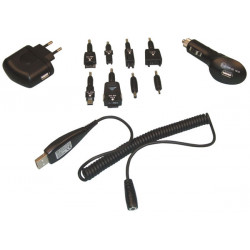 3 in 1 usb lader set mit 8 steckern