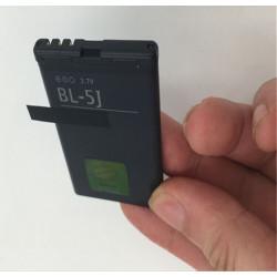 Batterie Bl-5J BL 5J bl5j 1320mAh 3.7 V pour N900 de Nokia 5800 5230 5233 5235 X 6 Xpressmusic