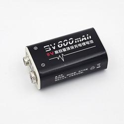 baterías recargables 6F22 006P 9V 8.4V 600mAh MN1604 Li-ion 4022 a1604 kr9v