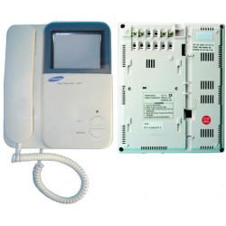 Moniteur surveillance video n/b 4'' 8cm pour portier video 2 fils (samsung vdpm430) ecran moniteurs