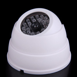 Hunting Lights Safety Entertainment Dummy Fake Surveillance Security Dome Camera Flashing LED Lights