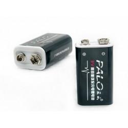 2 baterías recargables 6F22 006P 9V 8.4V 600mAh MN1604 Li-ion 4022 a1604 kr9v