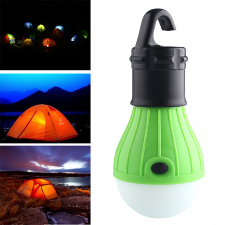 Soft Light Outdoor Hanging LED Camping Tent Light Bulb Fishing Lantern Lamp