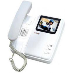 Monitor vigilancia video color 4'' 8cm por intercomunicador video pvc1 pvc2 pvc3 video vigilancia
