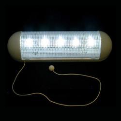 Applique da parete 5 LED corridoio solare Lampada da giardino Riparo in garage