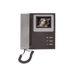 Moniteur interphone electronique villa portier video n/b camset14/mon saillie noir et blanc