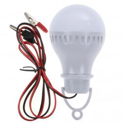 6000K 12V CC portable de la energía solar LED del bulbo de la lámpara de iluminación al aire libre Campo de pesca de la tiend