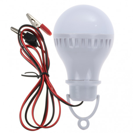 6000K DC12V Portable Solar Power LED Bulb Lamp Outdoor Lighting Camp Tent Fishing Tent Light LED Flashlight