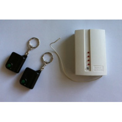 Pack commande a distance 2 telecommandes radio r1t 1 recepteur 433mhz