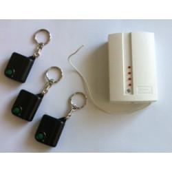 Pack domotique compose de : 3 telecommandes radio r1t 1 recepteur hf