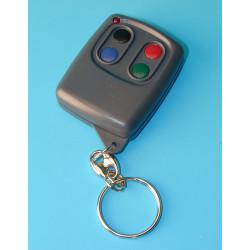 Telecommande radio miniature 4 canaux 30/100m 433mhz ch4ht transmetteur emetteur miniature
