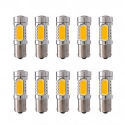10 x Auto 1156 ba15S s25 7.5w pannocchia ha condotto le lampade di coda lampadine indicatori di direzione faro fendinebbia freno