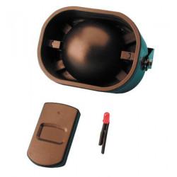 Alarma electronica de coche + deteccion de choques + 1 mando a distancia alarma antirobo alarma electronica