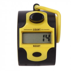 Digital tally counter 5 digits counts from 0 - 99999 accurate attendance counts, lap counts, golf scores and tallies