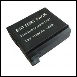 Batterie 3.8v 1160mah ahdbt-401 ahdbt401pour camera gopro Hero4 Hero 4