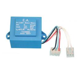 Transformateur electrique 220vca/2x12 10va de circuit automatisme 600c 610c ece244cn cl610e cl1010em