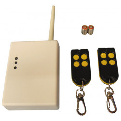 Kit domotica incluye 2 mandos a distancia radio rc11 + 1 receptor radio uc216 kits domoticos