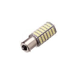 20 x Lampadina 12v 6w 7w LED ba15S 120 auto 3528 1210 smd bianco faro