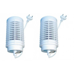 220V 2 X Home Practical Electric Mosquito Repellent Fly Bug Insect Killer Trap Night Lamp bulbs uv