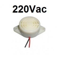 100 X Buzzer Alarmsirene Piepton 220V AC hyt-3015c 230V Wechselstrom 240v Soundgerät