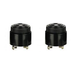 2 X Volume control buzzer 3 24vdc screw type pulse tone