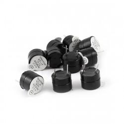 10 X Aktive alarmton 1.5v 3v 6v 9v 12v 15v sounder 92db pins 12x9. 5mm rohs tone alarm