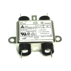 Filtre anti parasite secteur EMI 110v 220vac 50/60Hz 5a 5 Amp 05dbag5 delta electronics