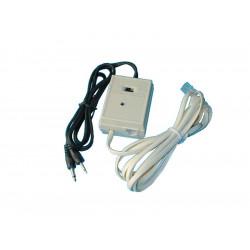 Rele' elettronico adattatore registrazione comunicazioni telefoniche telefonia