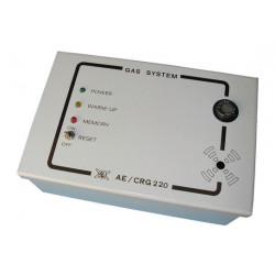 Detector de gas 220vca pro + rele on detector alarma incendio deteccion gas natural detector gases hidrogeno butano