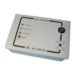 Detector fire control panel incorporated gas detector, 220vac fire alarm detection gas leak detector detects mixtures air combus
