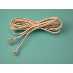 Cable telephone cable for pc60a computer interface, rj09 to rj45, 2m computer interface telephone cord cable wire cords cables w