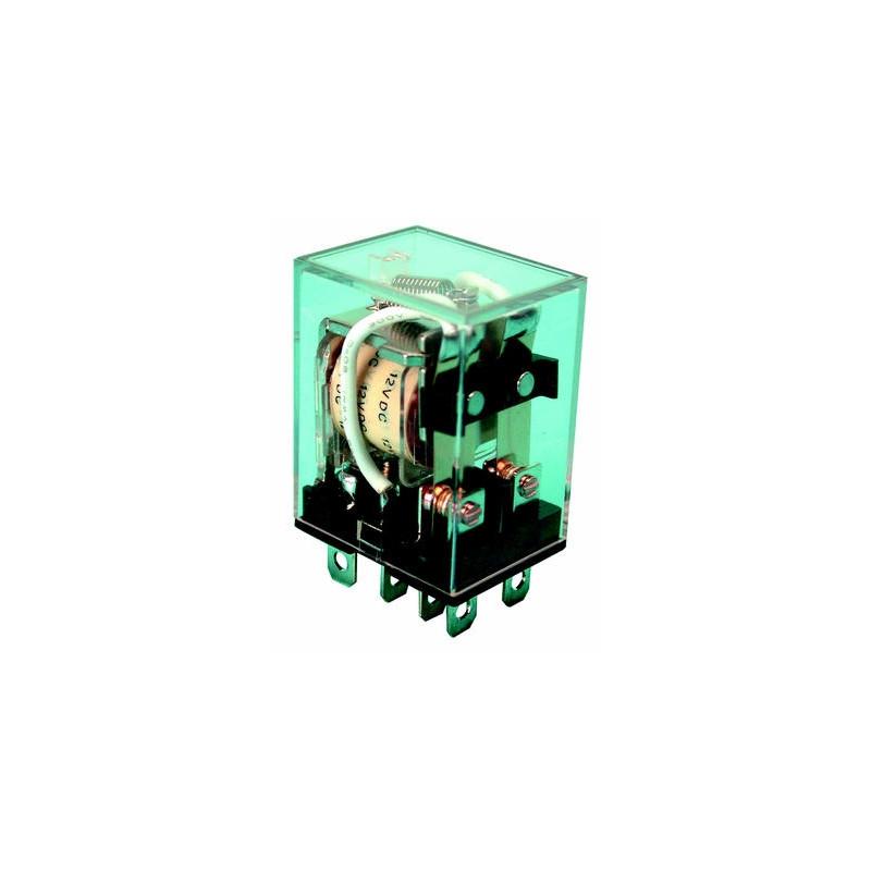 relais electrique 12v 10a 12vcc vr10hd122c bobine 160 ohms 2 inverseurs com no nc sous 220vca. Black Bedroom Furniture Sets. Home Design Ideas